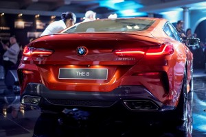 BMW 8 Series_Rear View_Malaysia_Launch