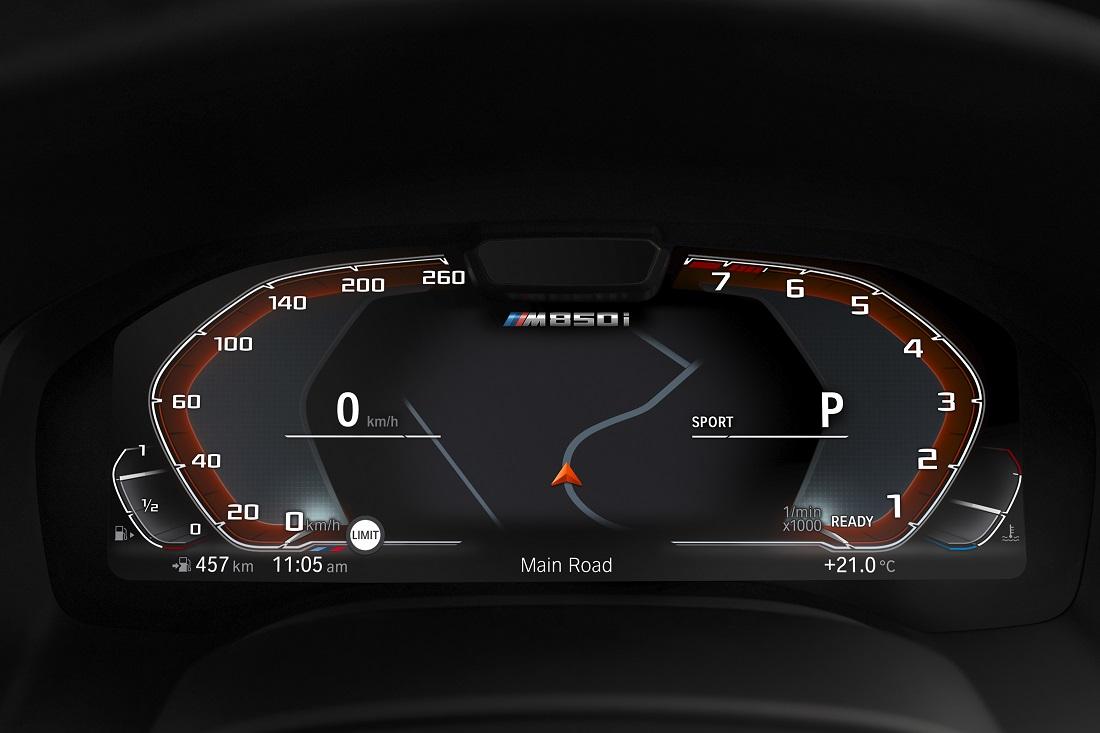 The Bmw M850i Xdrive Coupe Live Cockpit Professional Autoworld Com My