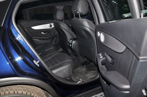 Mercedes-Benz GLC 300 Coupe AMG Line_Rear Seats_Malaysia_2019