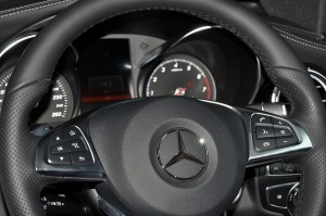 Mercedes-Benz GLC 300 Coupe AMG Line_Steering Wheel_Malaysia_2019