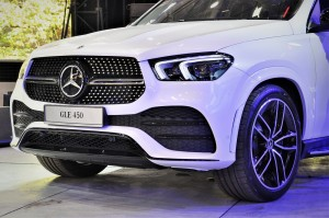 Mercedes-Benz GLE 450_AMG Line_Night Package_Fascia_Malaysia_2019