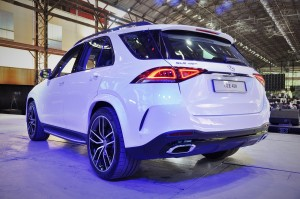 Mercedes-Benz GLE 450 AMG Line_Night Package_Rear View_Malaysia_2019
