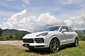 Porsche Cayenne_3.0 V6_Front View_Malaysia_Test Drive