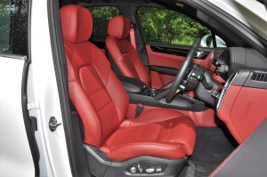 Porsche Cayenne_Front Seats_Malaysia