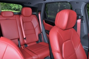 Porsche Cayenne_Leather Seats_Embossed Headrest_Malaysia