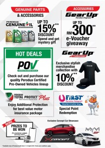 Perodua offers at the Malaysia Autoshow 2019