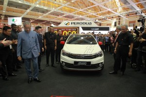 Perodua Bezza Limited Edition_Malaysia Autoshow 2019 Launch_Dr Mahathir