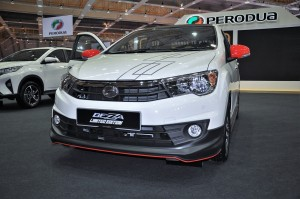 Perodua Bezza Limited Edition_50 Units_Malaysia Autoshow 2019