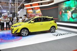 Toyota Yaris_Malaysia Autoshow 2019_Side View