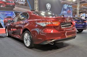 Toyota Camry_Malaysia Autoshow 2019_Rear View