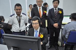 Hino-Yamato Driver Aptitude Test & Safety Driver Training_Hino Total Support Customer Center_Sendayan_Hideto Nakajima_Economics Counselor, Japan Embassy