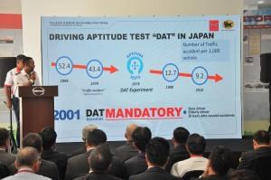 Hino Total Support Customer Center_Sendayan, Malaysia_DAT Results_Japan