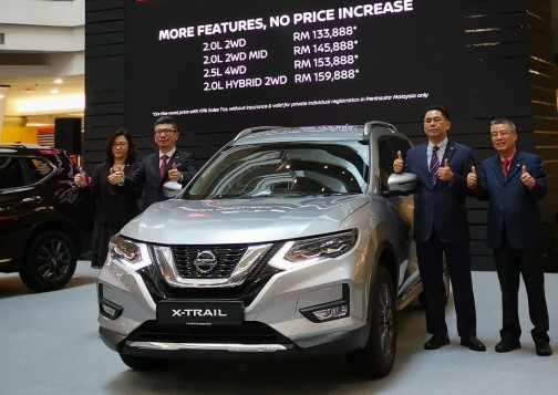 Official Nissan X-Trail Facelift Prices Revealed