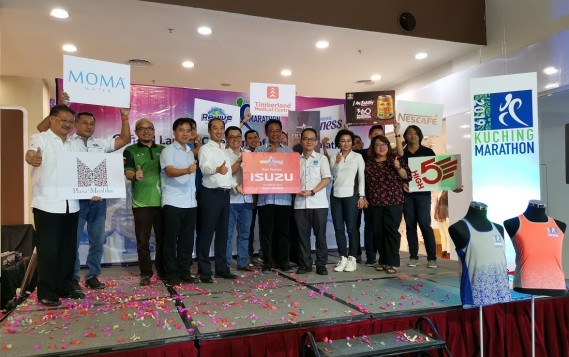 Isuzu Malaysia Supports The Kuching Marathon 2019