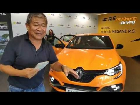 Renault Megane RS Coming Soon to Malaysia