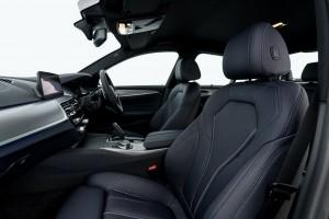 BMW 530e M Sport_Night Blue Leather Dakota Upholstery_Front Seats_Malaysia