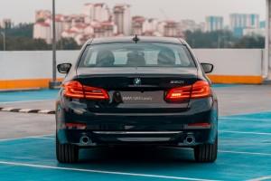 BMW 520i Luxury_Rear_LED Tail Lights_Malaysia