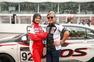 Toyota Gazoo Racing_Vios Challenge_Nabila Razali_Akio Takeyama_Malaysia_DTP_0085