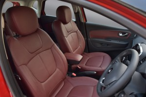 Renault Captur+_Maroon Combination Leather Seats_Malaysia