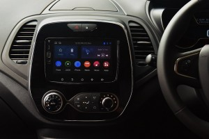 The Renault Captur gets a new 7-inch Infotainment with Connectivity