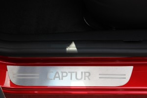 New Kick Plates for Front and Rear Door Sills of the Renault Captur