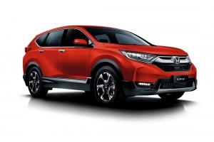 Honda CR-V_Passion Red Pearl_Malaysia