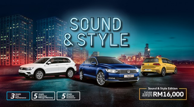Volkswagen Passenger Cars Malaysia Adds Sound & Style To Its Range