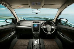 The Toyota Avanza cabin and dashboard has been improved