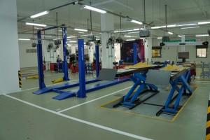UMW Toyota Motor_Laser Motor_2S Service Centre_Work Bays_Malaysia