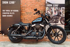 Harley-Davidson Iron 1200 Sportster_Motorcycle-Malaysia_Side View