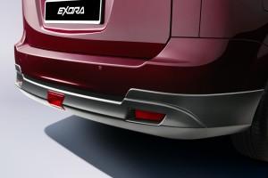 Proton Exora_Rear Bumper Diffuser_Malaysia_2019