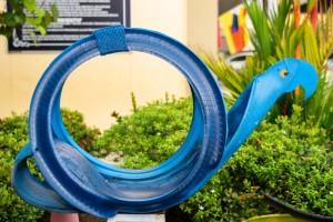 Goodyear Malaysia_Sekolah Kebangsaan Seksyen 20_SK20_Recycled Tyres Sculpture