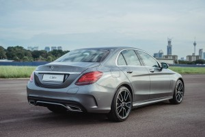 Mercedes-Benz C300e_EQ Power_Rear View_Malaysia