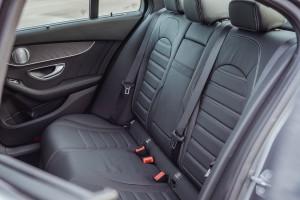 Mercedes-Benz C300e_Rear Seats_Malaysia