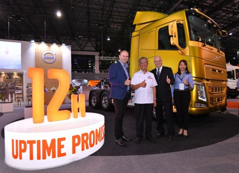 Volvo Trucks Malaysia Supports Its Customers With Uptime Promise