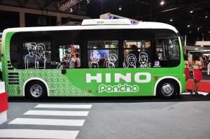 Hino Poncho_Minibus_Side View