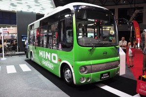 Hino Poncho_Low Floor Mini Bus_Display