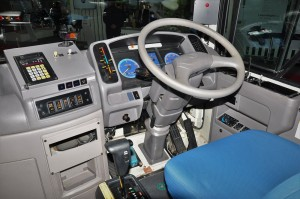 Hino Poncho_Bus_Cockpit