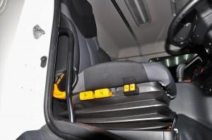 Hino SR1E_6x2_700 Series_Truck_Driver Seat