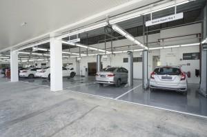 Honda 3S Centre_Bintulu_Sarawak_Kemena Auto_Workshop_Service Bay_Repairs_Malaysia