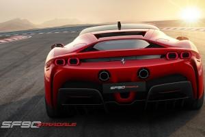 Ferrari_SF90 Stradale_Hybrid_Rear