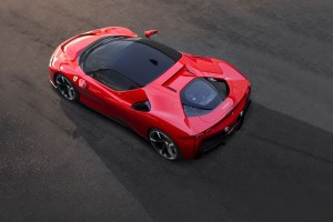 Ferrari SF90 Stradale_Top View