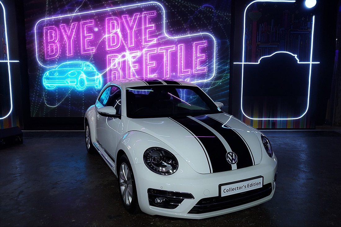 Collector's Edition VW Beetle - Only 75 Units Of The Last