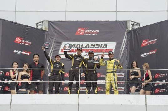 Team Proton R3 Dominates Round 3 of the 2019 Malaysia Championship Series