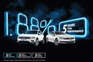 Volkswagen Tiguan & Passat_1.88% and 5 years free maintenance_VW_Malaysia