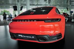 Porsche 992_911 Carrera S_Rear_Malaysia