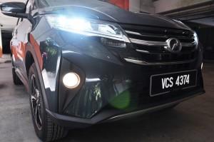 Perodua Aruz_Headlights_Malaysia