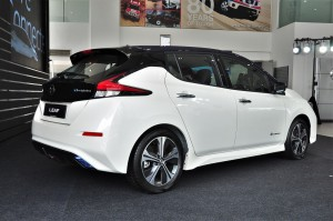 Nissan LEAF_Electric Vehicle_Malaysia_Launch_Rear View