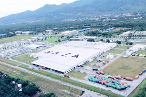 Naza Automotive Manufacturing plant in Gurun Kedah