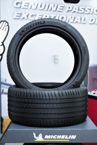 The Michelin Pilot Sport 4 SUV has an improved tread pattern and new tyre compound for better grip and wet braking